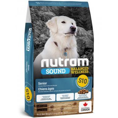 S10 Nutram Sound Senior Dog - pro psí seniory všech plemen 11,4kg