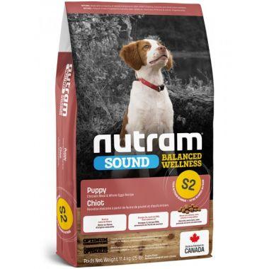 S2 Nutram Sound Puppy - pro štěňata 11,4kg
