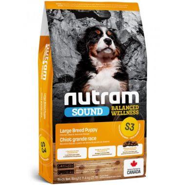 S3 Nutram Sound Puppy Large Breed - pro štěňata velkých plemen 11.4kg