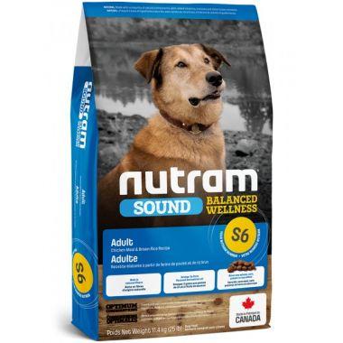 S6 Nutram Sound Adult Dog - pro dospělé psy 11,4kg