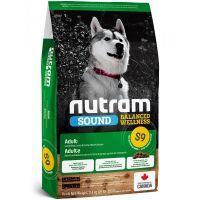 S9 Nutram Sound Adult Dog Lamb - pro dospělého psa, z jehněčího masa 11,4kg