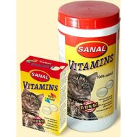 Sanal cat VITAMINS 100tbl./60g
