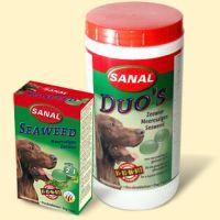 Sanal dog SEAWEED 100tbl./100g