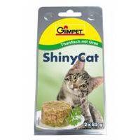 Shiny Cat Tuňák a Kočičí tráva 2x70g