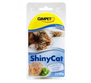 Shiny Cat Tuňák + Kuře  2x70g