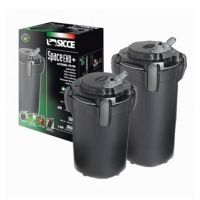 SICCE Vnější filtr Space EKO+ 200, 700 l/h, pro akvária o objemu 100-200 l, s filtračními náplněmi