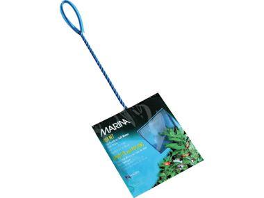 Síťka akvarijní modrá jemná 12,5 cm