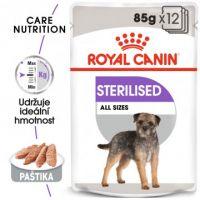ROYAL CANIN Sterilised Dog Loaf kapsička s paštikou pro kastrované psy 12x
