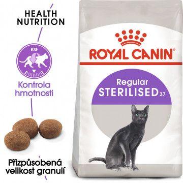 Royal Canin Sterilised granule pro kastrované kočky 0,4kg
