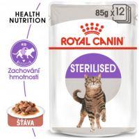 Royal Canin Sterilised Gravy kapsička pro kastrované kočky ve šťávě 12x