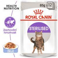 Royal Canin Sterilised Jelly kapsička pro kastrované kočky v želé 12x