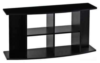 Stolek pod akvarium Classic 120 oblý černý