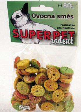 SUPERPET Ovocná směs pro hlodavce   (80g)