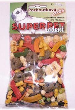 SUPERPET Pochoutková směs pro hlodavce   (70g)