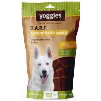 Sušené krůtí maso pro psy Yoggies, (proužky) 50g Pamlsek pro psy