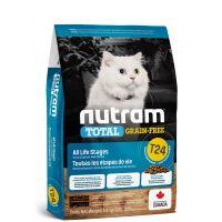 T24 Nutram Total Grain Free Salmon Trout Cat - bezobilné krmivo - losos a pstruh, pro kočky a koťata 1,13kg