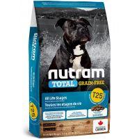 T25 Nutram Total Grain Free Salmon Trout Dog - bezobilné krmivo, losos a pstruh, pro psy 11,4kg