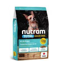 T28 Nutram Total Grain Free Salmon Trout Dog - bezobilné krmivo, losos a pstruh, pro psy malých plemen 2kg