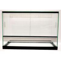 Terarium skleněné  60*30*40 v plastovém rámu