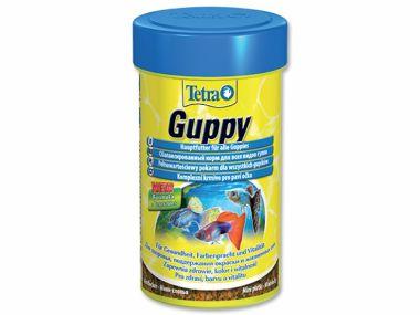 Tetra Guppy Food   (100ml)