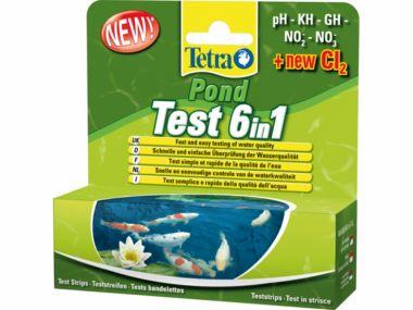 Tetra Pond Test 5in1   (25ks)