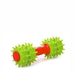 TPR – dentální činka, odolná (gumová) hračka z termoplastické pryže
