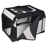 Transportní nylonový box Vario L 99x67x71/61 cm černo-šedý