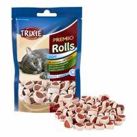 Trixie cat pochoutka Premio light rolky kuře/losos 50 g