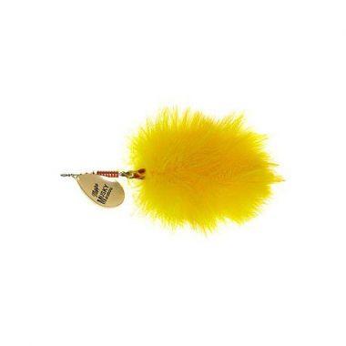 Třpytka MEPPS Giant Marabou 40g zlatá/žlutá