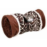 Tunel pro kočky Velvet 22cm/50cm motiv žirafa