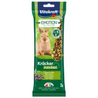 Tyčinky VITAKRAFT Emotion kracker králík herbal ()