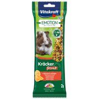 Tyčinky VITAKRAFT Emotion kracker morče ovocné ()