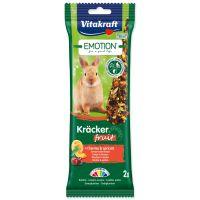 Tyčinky VITAKRAFT Emotion Kracker ovocné pro králíky (112g)