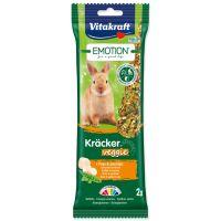 Tyčinky VITAKRAFT Emotion Kracker Veggie pro králíky (112g)