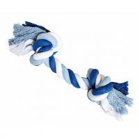 Uzel HipHop bavlněný 2 knoty - tm.modrá, sv.modrá, bílá 41cm