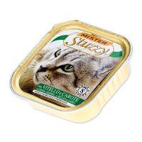 Vanička MISTER STUZZY Cat telecí + mrkev (100g)