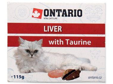 Vanička ONTARIO liver with taurine (115g)