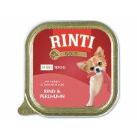 Vanička RINTI Gold hovězí + perlička (100g)