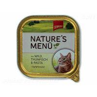 Vanička Schmusy Nature´s Menü zvěřina + tuňák (100g)