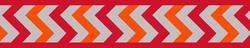 Vodítko RD 12 mm x 1,8 m - Ziggy Rfx - Červená