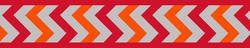 Vodítko RD 20 mm x 1,8 m - Ziggy Rfx - Červená