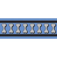 Vodítko RD 25 mm x 1,8 m - Bones Rfx - Stř. Modrá
