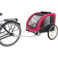 Vozík pro psa za jízdní kolo L: 58 × 52 × 79 cm, nosnost 30 kg