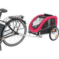 Vozík pro psa za jízdní kolo M: 43 × 45 × 73 cm, nosnost 22 kg
