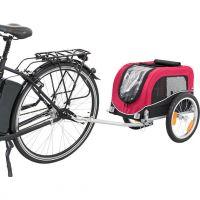 Vozík pro psa za jízdní kolo S: 36 × 34 × 57 cm, nosnost 15 kg