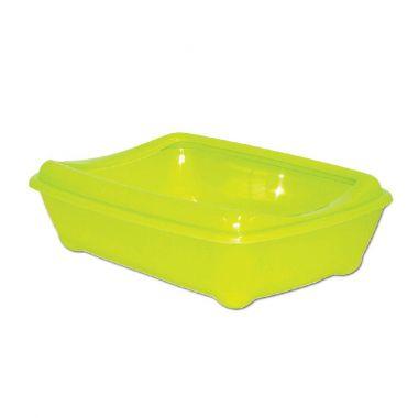 WC Arist-o-cat zelené s okrajem, 50cm