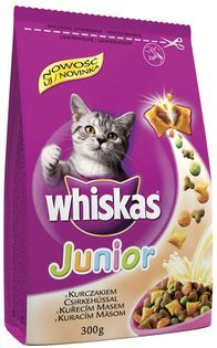 Whiskas junior 300g