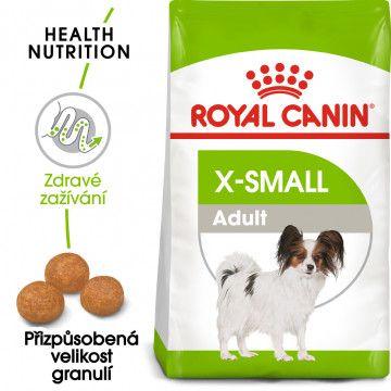 Royal Canin X-Small Adult granule pro dospělé trpasličí psy 0,5