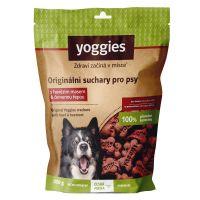 Yoggies bezlepkové suchary pro psy s hovězím masem a červenou řepou 150g