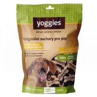 Yoggies bezlepkové suchary pro psy s krůtím masem a lněným semínkem 150g